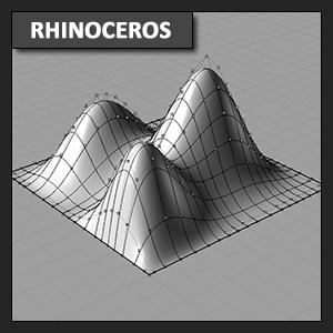 Rhinoceros conceptos base: Trabajo con puntos de control