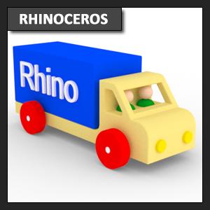 Rhinoceros Modelado: modelado mediante primitivas, líneas y extrude curve parte 2