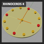 Rhinoceros Tutorial 01c: herramientas de Array (Matriz)