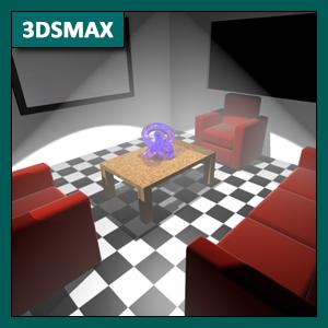3DSMAX Iluminación: Luces Standard parte 1, introducción e iluminación ambiental