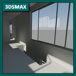 3DSMAX Iluminación: Global Illumination o GI