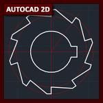 AutoCAD 2D Tutorial 03: Dibujo básico (pieza) y layers