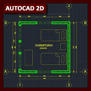 AutoCAD 2D Cotas: acotación y estilos de cota