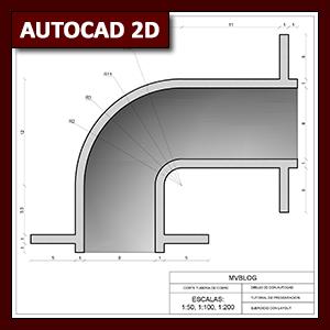 AutoCAD 2D Layout: diseño para impresión mediante layout