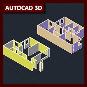 Autocad 3d Tutorial 03 Modelado De Vivienda Parte 1 Mvblog