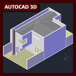 AutoCAD 3D Tutorial 03: Modelado de vivienda, parte 4