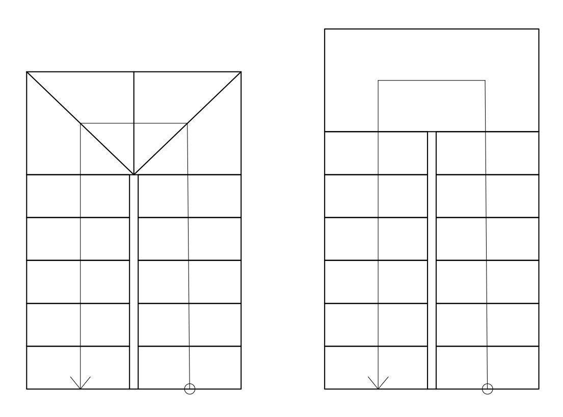 Planimetr a representaci n en planta de muros puertas for Escaleras en planta