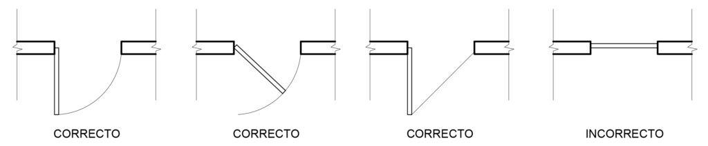 Planimetría 04 Representación En Planos De Muros Puertas Y