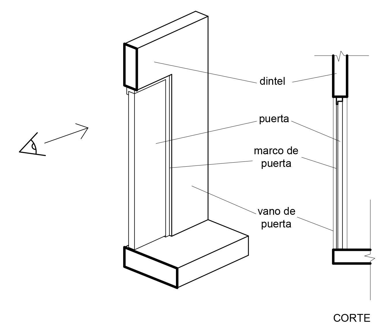 Planimetría 04: Representación en planos de muros, puertas y ...