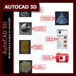 AutoCAD 3D Tutorial 05b: Guía interactiva sobre Materiales (PPT)