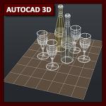AutoCAD 3D Tutorial 01b: Cámaras y Estilos Visuales