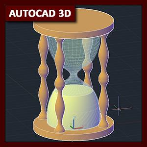 AutoCAD 3D Modelado: comando Loft (Solevar)