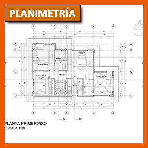 Ubicacion de ejes en un plano arquitectonico