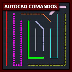 Comandos AutoCAD: el comando Line