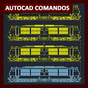 Comandos AutoCAD: comandos Move y Copy