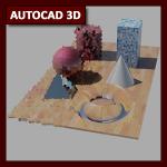 AutoCAD 3D Tutorial 09: Render y GI parte 2, Sun & Sky