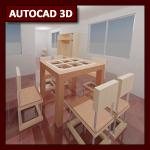 AutoCAD 3D Tutorial 09: Render y GI parte 3, Iluminación artificial