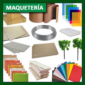 Maquetería: Materiales para maquetería