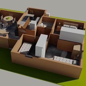 Módulo Taller de Maquetería Virtual II, Año 2012