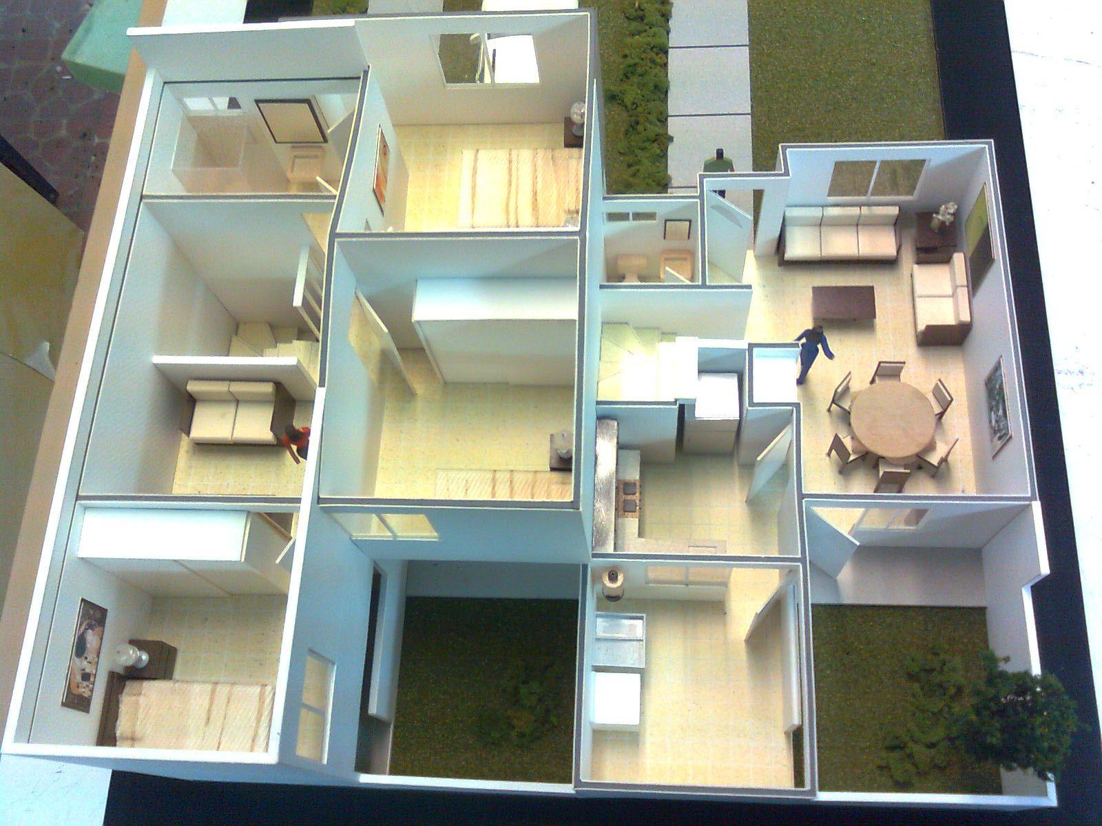 Maqueter a 07 criterios b sicos para construir una for Medidas de mobiliario de una casa