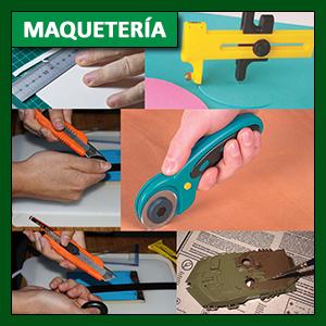 Maquetería: calidad del trabajo y técnicas base