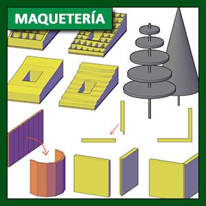 Maquetería: técnicas de construcción