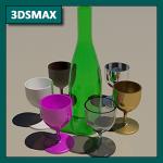 3DSMAX Tutorial 06c: Materiales Arch & Design (Mental Ray)