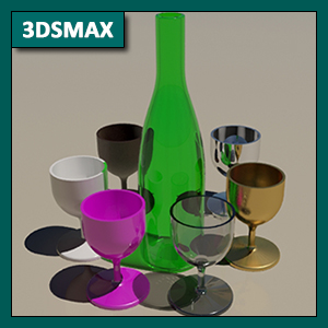 3DSMAX Materiales: Material Arch & Design de Mental Ray