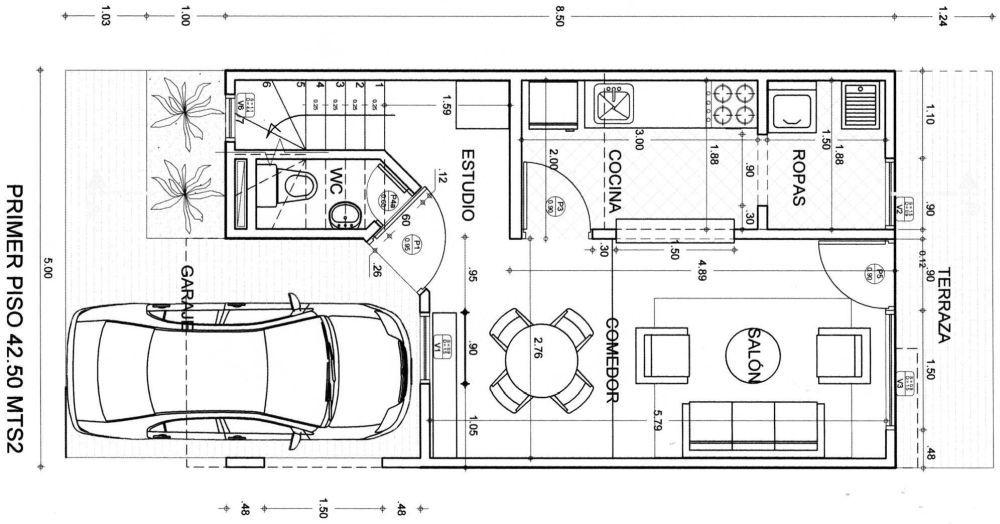 Dibujo t cnico la escala y sus aplicaciones mvblogmvblog for Medidas de un carro arquitectura
