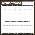 Dibujo Técnico: tipos de línea, grosores y usos