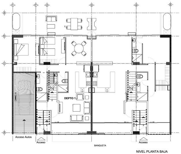Dibujo t cnico tipos de l nea grosores y usos mvblogmvblog for Tipos de planos arquitectonicos pdf