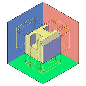 Dibujo Técnico: método de proyección ortogonal