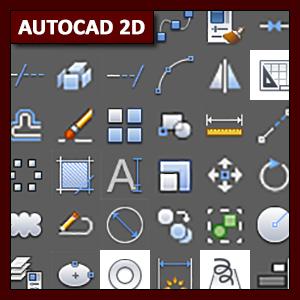 AutoCAD 2D Especial: Lista de Comandos 2D