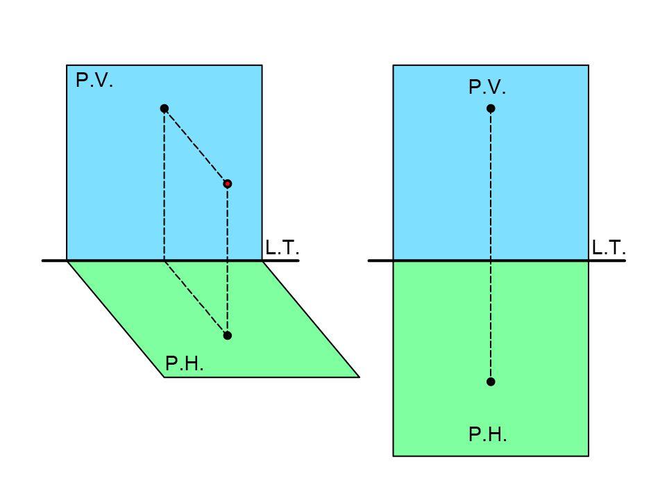 Planos en linea recta de perfil sistema didrico ortogonal for Planos en linea