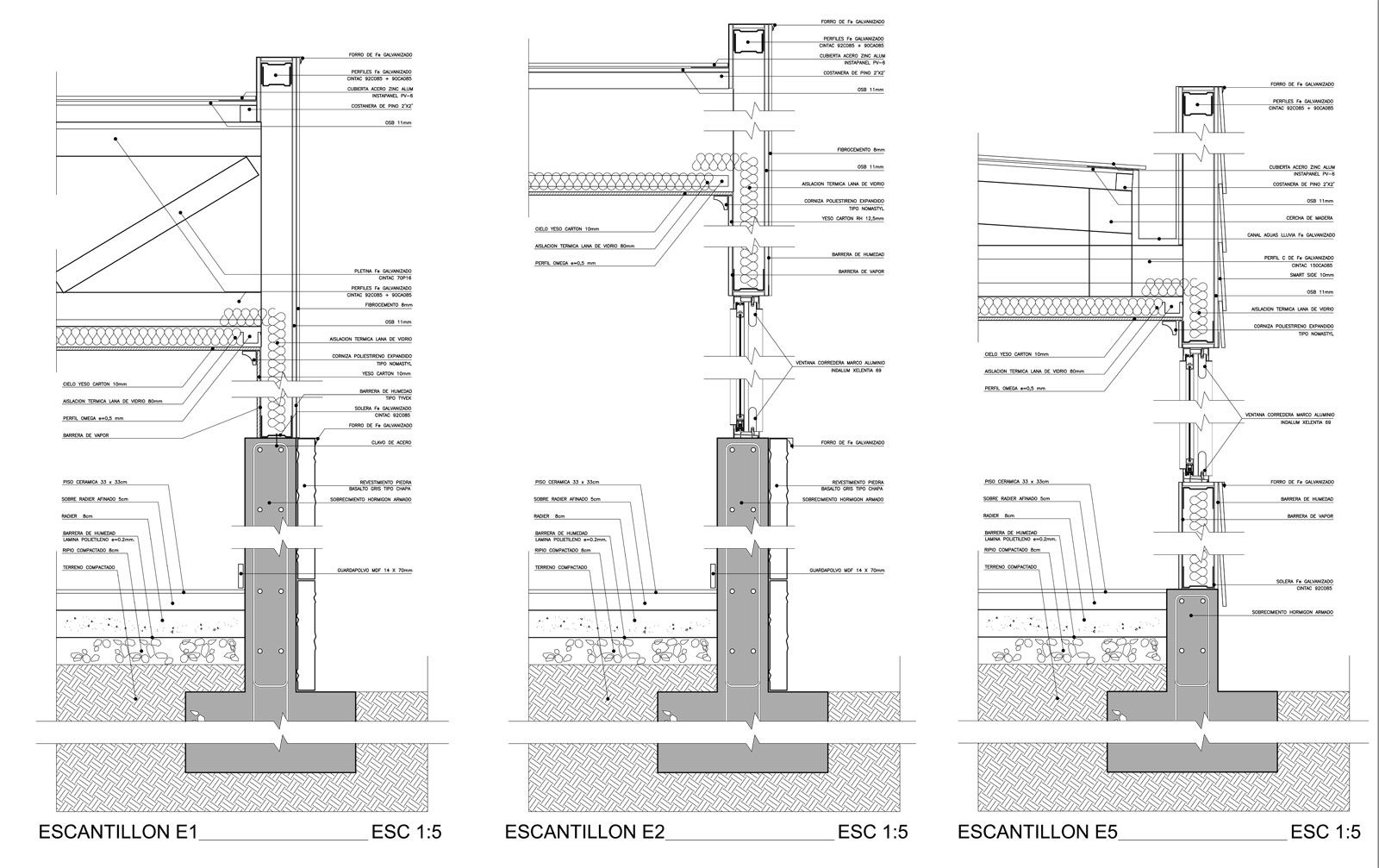 Dibujo t cnico la escala mvblogmvblog for Piso tecnico detalle