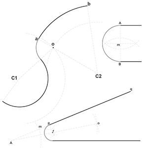 Dibujo Técnico: Trazados geométricos fundamentales parte 3, enlaces