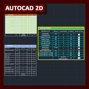 AutoCAD 2D Funciones: Tablas en AutoCAD e integración con Excel