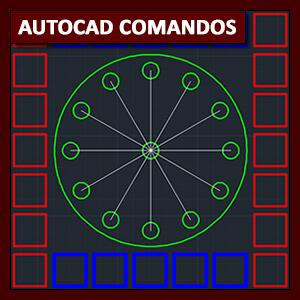 Comandos AutoCAD: el comando Array
