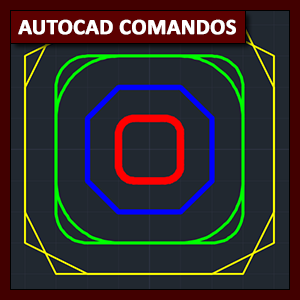 Comandos AutoCAD: comandos Fillet, Chamfer y Blend curves
