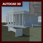 AutoCAD 3D Tutorial 09: Render y GI parte 4, Renderizado con AutoCAD 2017-18