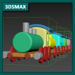 3DSMAX Tutorial 10b: Animación en 3DSMAX, Cinemática Directa o Jerarquías entre objetos