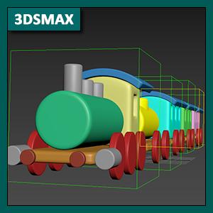 3DSMAX Animación: Cinemática Directa o Jerarquías entre objetos
