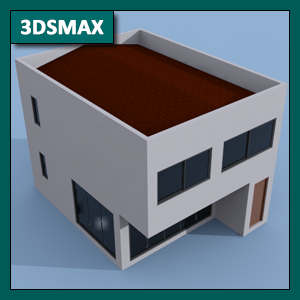 3DSMAX Iluminación: Global Illumination o GI mediante Scanline Renderer