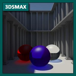 3DSMAX Iluminación: Global Illumination o GI mediante Mental Ray