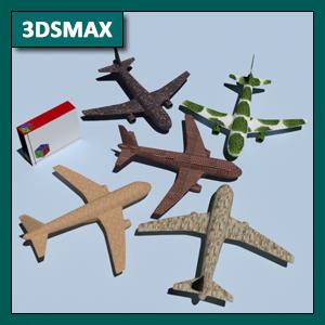 3DSMAX Materiales: Mapas y mapeo de elementos mediante UVW Map