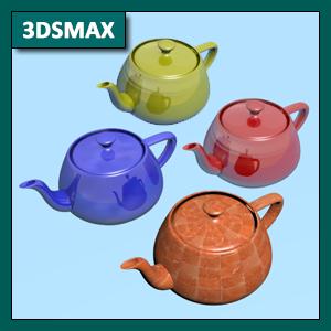 3DSMAX Materiales: Material Standard, mapas de textura